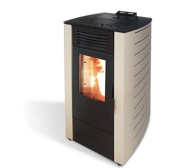 Stufa a pellet king modello 12 potenza 10 kw termosider ferramenta - Potenza stufe a pellet ...