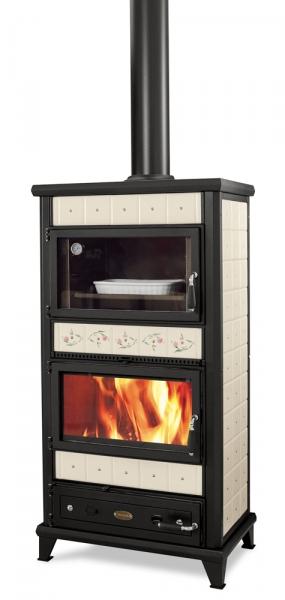 Stufa a legna con forno wekos modello avventurina maxi - Stufe forno a legna ...