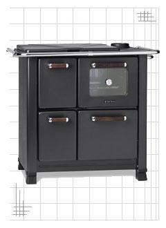 cucina a legna dal zotto modello classica 350. Black Bedroom Furniture Sets. Home Design Ideas