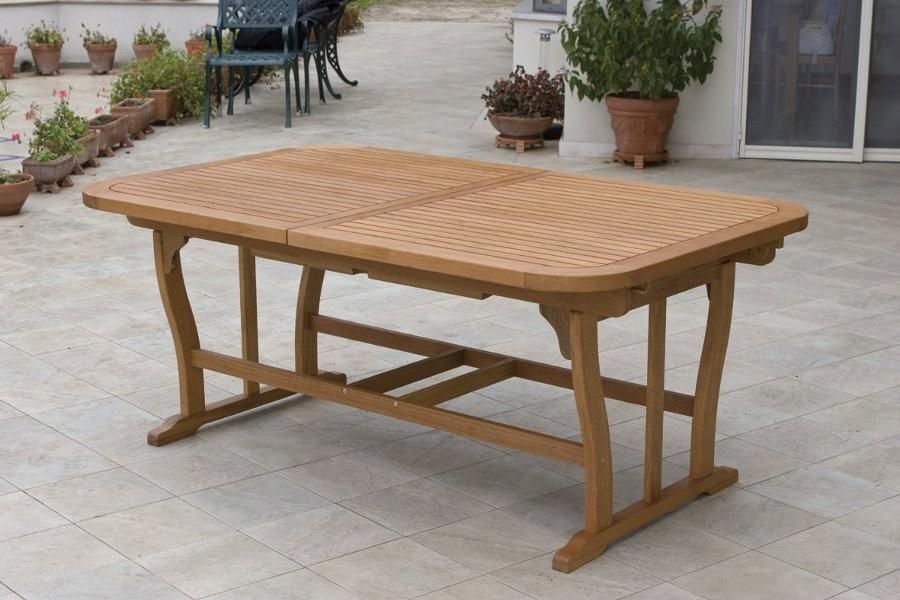 tavolo rett. imperiale in legno yellow balau per esterno ... - Tavolo Da Giardino In Legno Balau