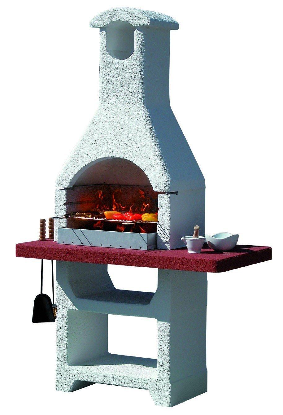 Barbecue in muratura mod martinica lx termosider ferramenta for Termostufe a pellet bricoman