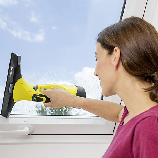 Pulitore per finestra karcher wv 5 premium for Aspiragocce karcher