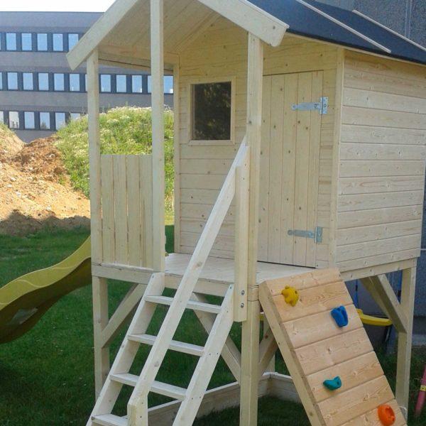 casetta da giardino in legno per bimbi alida