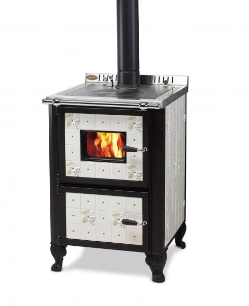 Cucina A Legna Con Forno.Cucina A Legna Wekos Modello 601 Con Forno Rustica Serenella