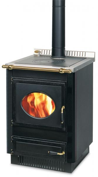 Cucina a legna ad incasso Wekos modello 601 rustica