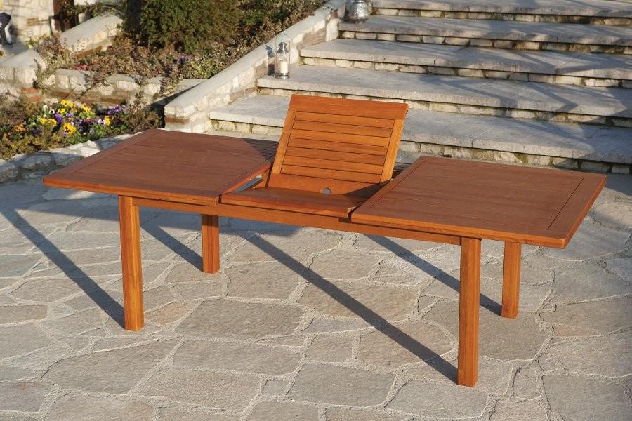 Tavolo da giardino in legno Yellow Balau SuperQuattro70 ...
