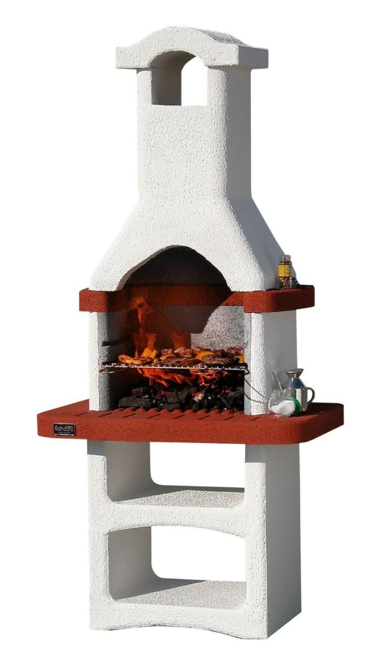 Barbecue In Muratura Immagini barbecue in muratura mod. alicante