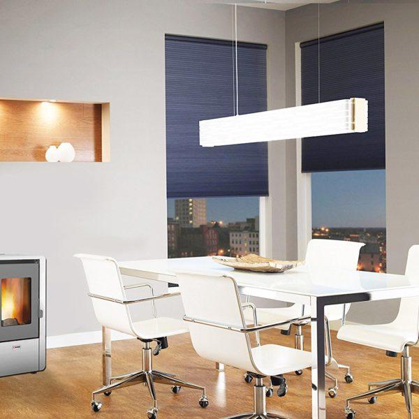 Stufa A Pellet King 60 Dimensioni Contenute Design Moderno